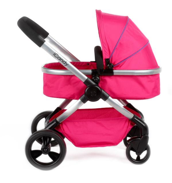 Icandy Mi Peach Dolls Pram Bubblegum Leith Pram Centre