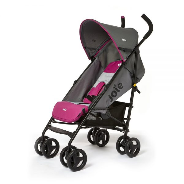 joie-nitro-stroller-charcoal-pink