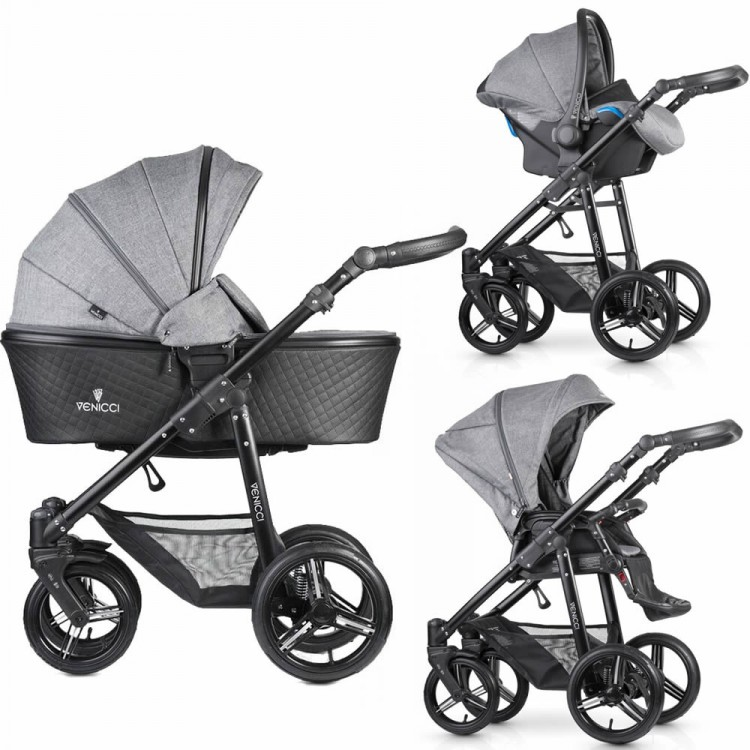 Kourtney Kardashians Nifty Buggy Ultimate Gadget Jet Setting Mums likewise 171271918681 furthermore Baby Accessories furthermore Venicci Shadow Denim Grey 3 In 1 in addition 32361832666. on sit and stroll car seat