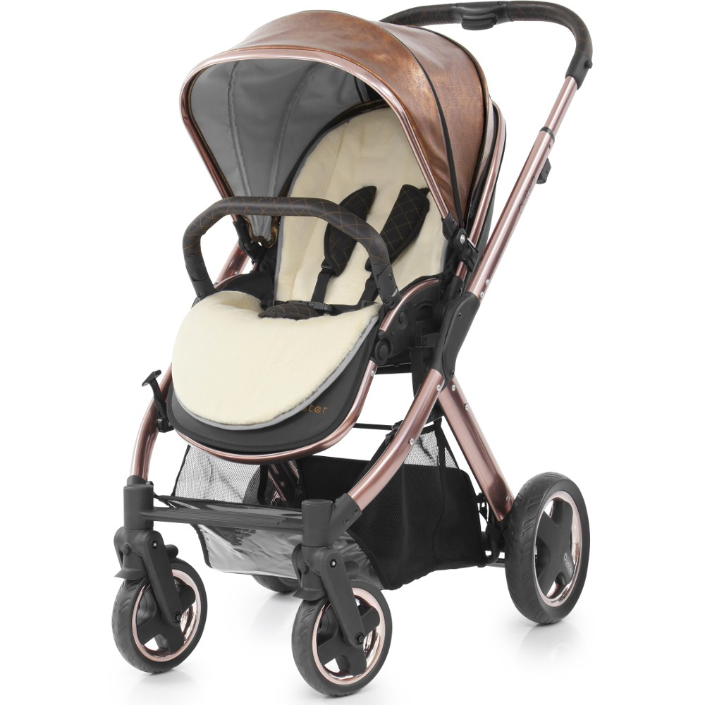 Oyster Vacation: BabyStyle Oyster 2 Rose Gold Stroller (Rose Gold & Copper
