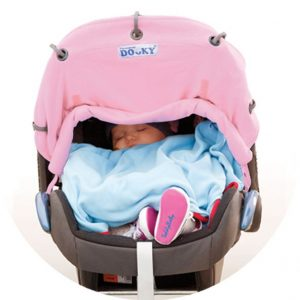 dooky pink carseat