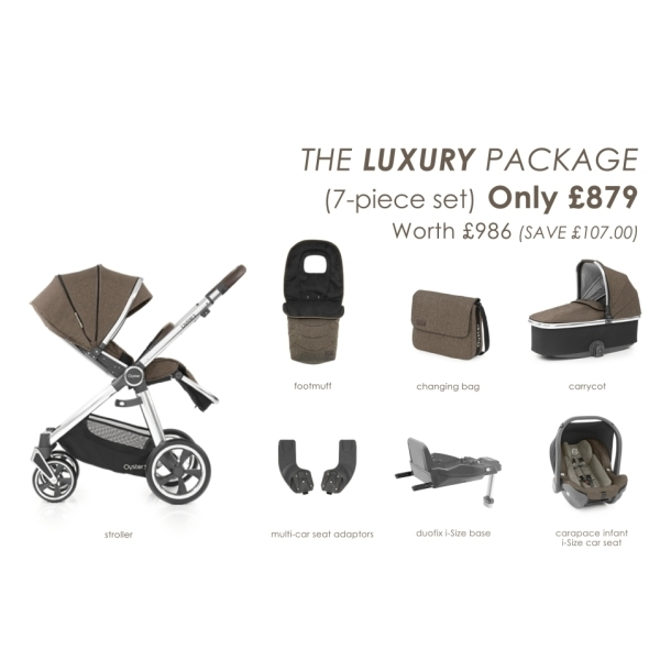 Oyster3 – The Luxury Package1