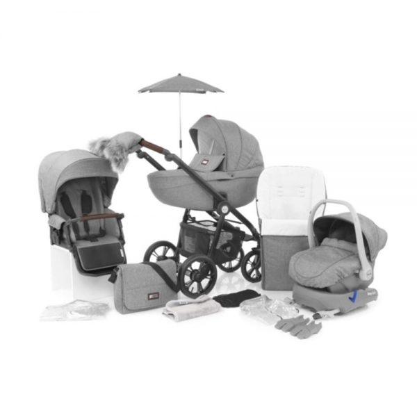 Babystyle Prestige 2 Bundle Nimbus Grey