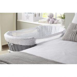clair-de-lune-bedside-crib side view