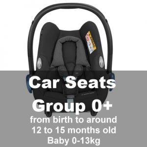 Car Seats Group 0+ (Baby-15mths)