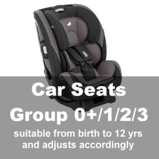 Car Seats Group 0+1/2/3 (Baby-12yrs)