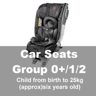 Car Seats Group 0+1/2 (Baby-6yrs)