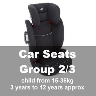 Car Seats Group 2/3 (3yrs-12yrs)